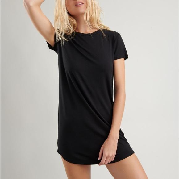 Garage Black Tshirt Dress